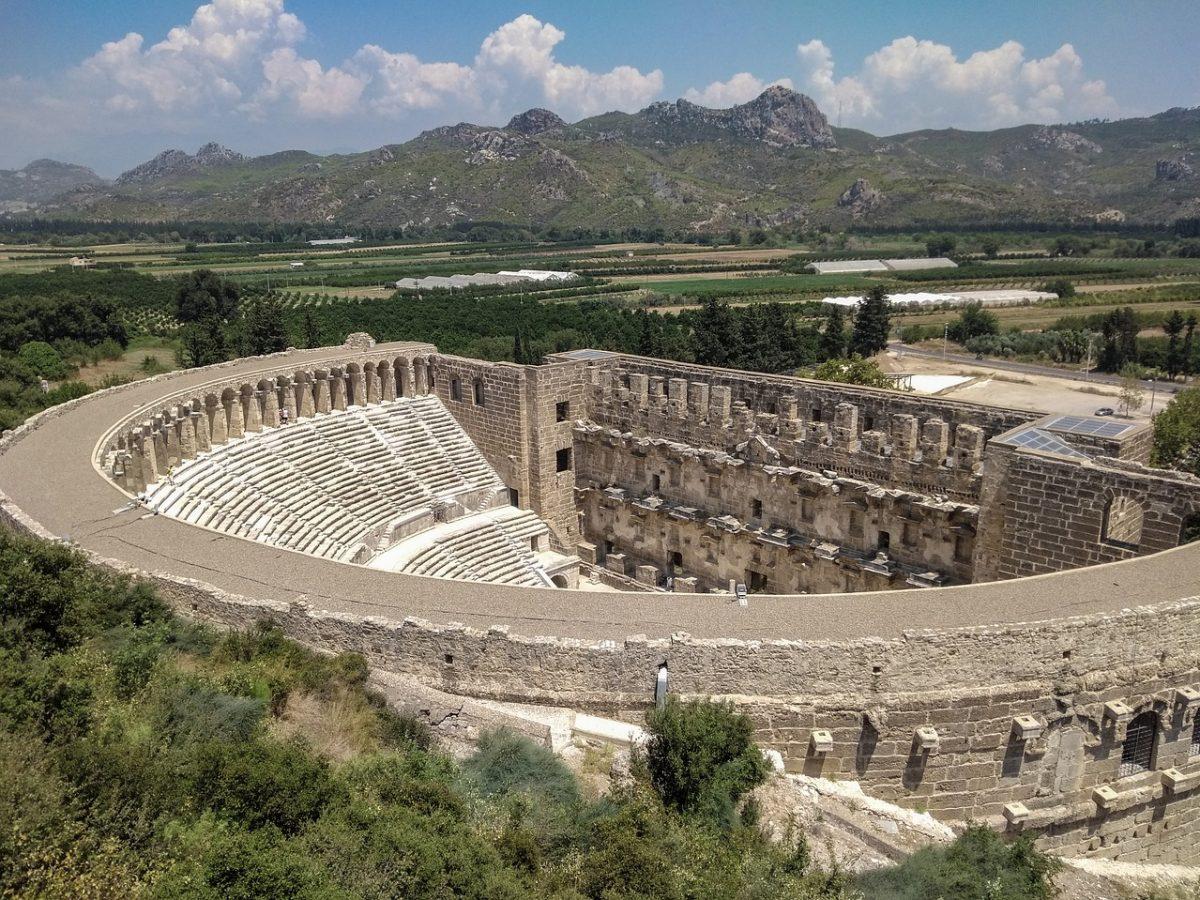 Aspendos amfiteatras, Belekas - lietuviaikeliauja.lt