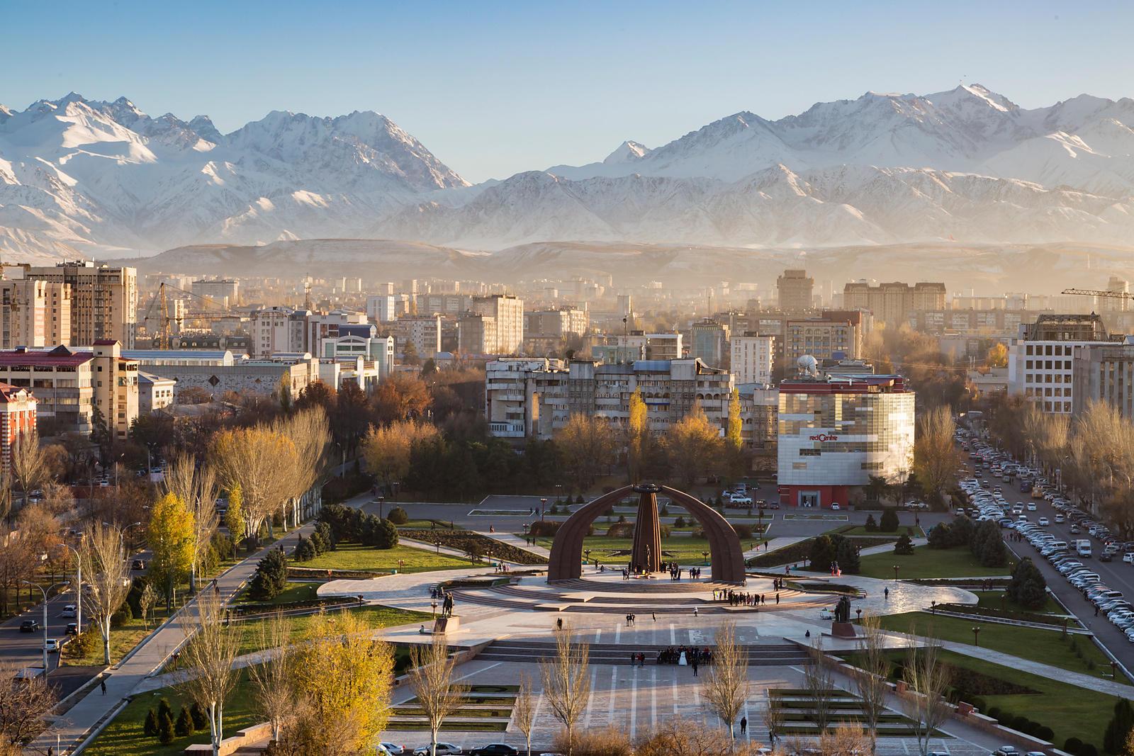 Biskekas, Kirgizija