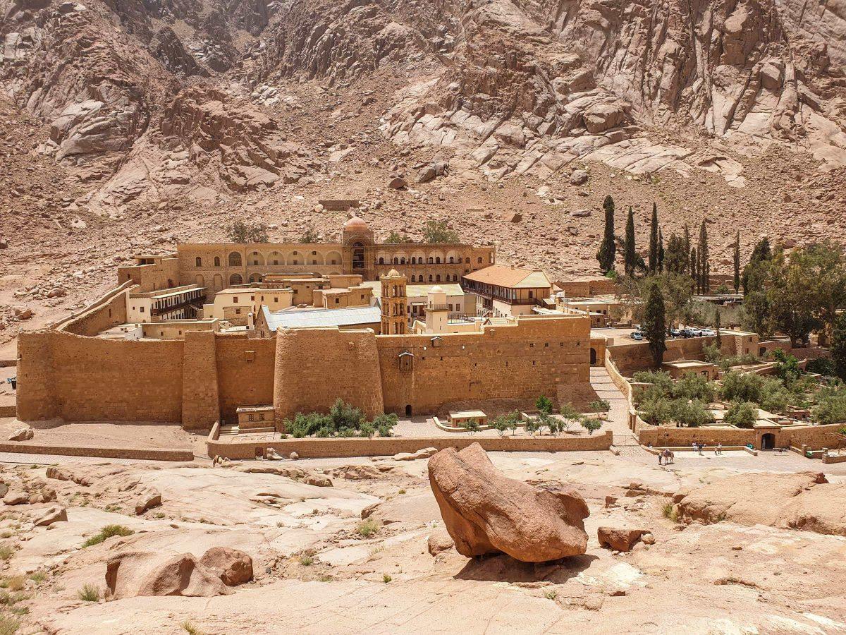 Šv. Kotrynos vienuolynas ir Sinajaus kalnas