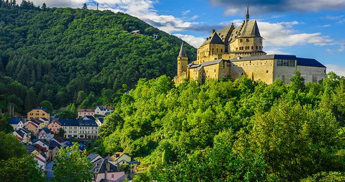 Viandeno pilis, Liksemburgas