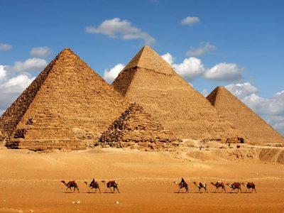 Gizos piramidės, Egiptas, Kairas