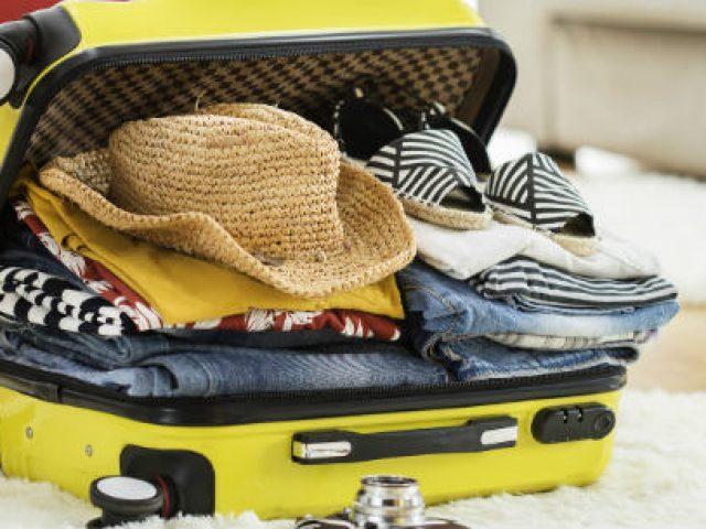 Kaip protingai susidėti daiktus į lagaminą ar kuprinę?